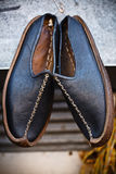 Traditional arab shoes. Pair of traditional arab shoes Stock Photography