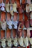 Traditional arab shoes Royalty Free Stock Images