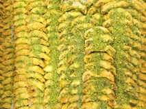 Traditional Arab sweets Royalty Free Stock Images
