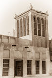 Traditional arabian cooling tower Stock Images