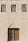 Traditional arabian exterior. Traditional Arabic motives in exterior Stock Photography