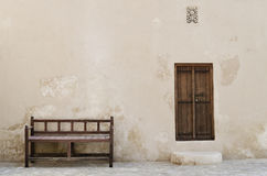 Traditional arabian exterior. Traditional Arabic moties in exterior Royalty Free Stock Images