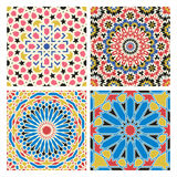 Traditional arabian tale patterns Stock Photos