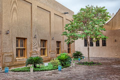 Traditional Arabic architecture in Doha, Qatar. Stock Photo