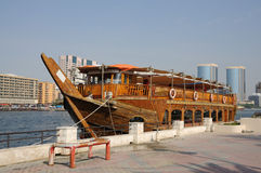 Traditional arabic boat Royalty Free Stock Images