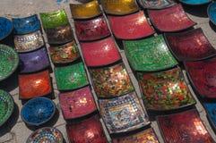 Traditional Arabic  ceramics Stock Photography
