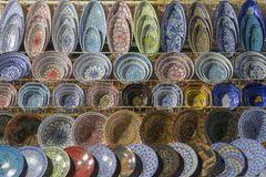 Traditional Arabic ceramics Stock Image
