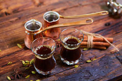 Traditional Arabic Coffee Royalty Free Stock Images