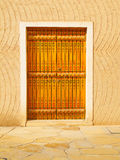Traditional arabic doorway Stock Photo