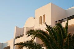 Traditional arabic house. In tunisia Stock Photo