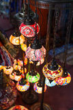 Traditional arabic lamps Stock Photos