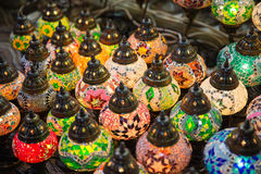 Traditional arabic lamps Stock Image