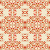 Traditional Arabic ornament seamless. Floral Ornamental pattern. Vector background Stock Photo