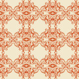 Traditional Arabic ornament seamless. Floral Ornamental pattern. Vector background Stock Photography