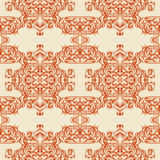 Traditional Arabic ornament seamless. Floral Ornamental pattern. Vector background Stock Images