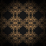 Traditional Arabic ornament seamless. Floral Ornamental pattern. Vector background Stock Image