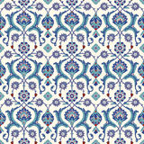 Traditional  Arabic ornament seamless for your design. Desktop wallpaper. Background. Iznik. Royalty Free Stock Image
