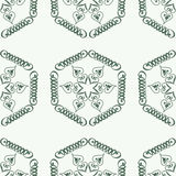 Traditional Arabic-Persian-Turkish-Islamic seamless pattern Stock Images