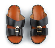 Traditional Arabic sandals Stock Photography
