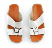 Traditional Arabic sandals Stock Photos