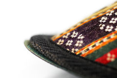 Traditional Arabic slippers. Shot against a white background Stock Images