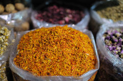 Traditional Arabic Spices Stock Image