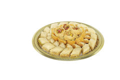 Traditional Arabic sweets Baklava Royalty Free Stock Image