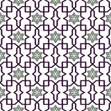 Traditional Arabic tangled pattern. Seamless vector background. royalty free illustration