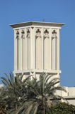 Traditional Arabic Wind Tower. In Dubai Royalty Free Stock Image