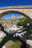 Traditional arched bridge Royalty Free Stock Photography
