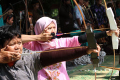 Traditional archery Royalty Free Stock Image
