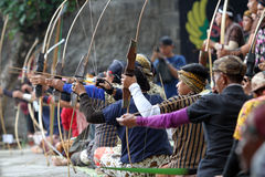 Traditional archery Royalty Free Stock Images