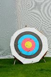 Traditional archery target Royalty Free Stock Photography