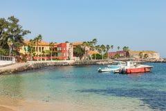 Free Traditional Architecture At Goree Island, Dakar, Senegal. West Africa Royalty Free Stock Photos - 179521288