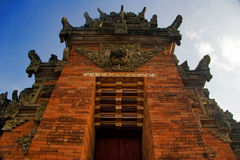 Traditional architecture of Bali Royalty Free Stock Photo