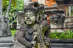 Traditional architecture in Bali, Indonesia Royalty Free Stock Photo