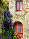 Traditional architecture of Brittany, France Royalty Free Stock Images