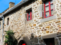 Traditional architecture of Brittany, France Stock Photography