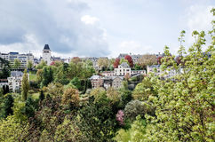 Traditional architecture buildings in Luxembourg, Europe Royalty Free Stock Photos