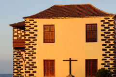 Traditional architecture, Canary Islands Royalty Free Stock Photo