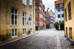 Traditional architecture in Copenhagen, Denmark Royalty Free Stock Photo