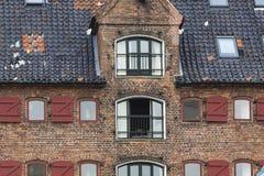 Traditional architecture in Copenhagen, Denmark Stock Image