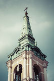 Traditional architecture in famous polish city, Torun, Poland. Royalty Free Stock Photo