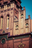 Traditional architecture in famous polish city, Torun, Poland. Stock Photography
