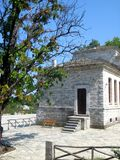 Traditional Architecture of Greek Mountains Royalty Free Stock Photo