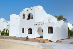 Traditional architecture of Hurghada Stock Images