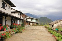 Free Traditional Architecture In Ghandruk, Annapurna Conservation Are Royalty Free Stock Photos - 118059908