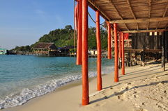 Traditional architecture, Koh Rong, Cambodia Royalty Free Stock Photo