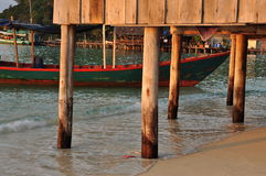 Traditional architecture, Koh Rong, Cambodia Stock Photos