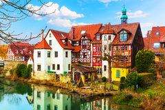 Traditional architecture in Lauf an der Pegnitz, Germany Royalty Free Stock Photos